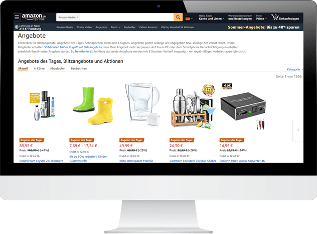 Amazon Angebote des Tages