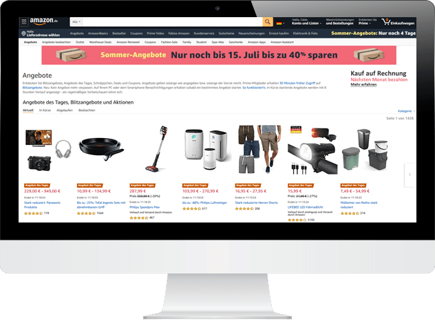 Amazon Werbeaktionen